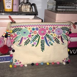 Colorful clutch